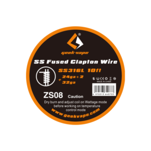 GeekVape SS Fused Clapton Wire